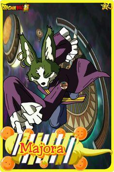 Majora- Team Universe 4. Dragon ball super