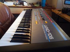 MATRIXSYNTH: Vintage Roland Juno-106 Analog Synthesizer Service...