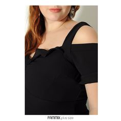 Um amor de vestido! (ref.209472) Com leves babados no decote e nas mangas. Vestido acinturado, veste super bem! Confiram mais detalhes em www.fammix.com.br  #fammix #modagrande #modafeminina #plussize #plussizefashion #plussizebrasil
