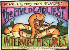 The Five Deadliest Job Interview Mistakes