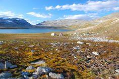 Dovrefjell national park, camp