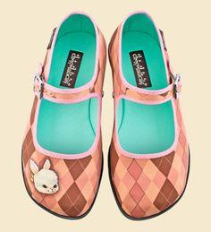Zapatos Chocolaticas Rombo Rabbit
