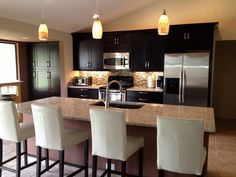 kitchens - Behr - Dolphin Fin - white Cabinets steel gray ...