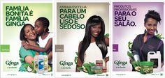 Posters criados para a marca Ginga