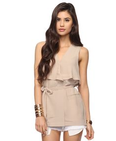 Draped Suplice Top- Forever 21