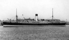 Blue Funnel Line's SS Aeneas built by. Built by Workman Clark, Belfast & launched 23/8/10. Completed 1/11/10. Used as troopship by Australian Government during WW I. 2/7/40 En route in convoy from London to Glasgow to finish unloading she was attacked by German bombers 21 miles S.E. of Start Point and finally sank on July 4th.19 men lost with ship. For more details see entry on https://plus.google.com/u/0/109966544248039076315/posts/W7tp6qWs5aF