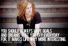 Travis Clark from We The Kings