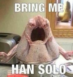 This turkey must be a fan.