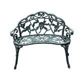 "$148.99 39.5"" Found it at Wayfair - Cast Iron Antique Outdoor Patio Garden Bench"
