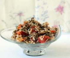 Indian Lentil and Rice Pilaf- Fragrant with Indian spices, this pilaf is deliciously healthy.#meatlessmonday #vegan #vegetarian #pilaf #lentils #Indian #glutenfree #foodblogger