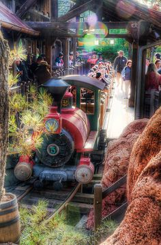 """""""Hold on to Your Hats and Glasses"""" Big Thunder Mountain Railroad #Frontierland #Disneyland from Michaela Hansen"""