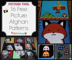Picture This: 16 Free Picture Afghan Patterns
