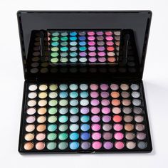 Professional 88 Colours Pearl Matte Eye Shadow Palette with Mirror and Brush #men, #hats, #watches, #belts, #fashion, #style
