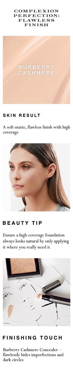 Shop your complete flawless skin look at sephora.com. Burberry Makeup, Flawless Skin, Smokey Eye, Sephora, Shop, Makeup Tips, Lashes, Face, Beauty Hacks