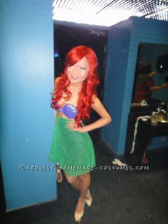 My Homemade Little Mermaid Costume – Under $25!... This website is the Pinterest of costumes