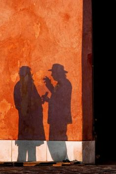 ~ Conversation ~ It would be fun to do a series of shadow art! It would be fun to do things like this around the school and portray people doing things that are positive (above the influence...)