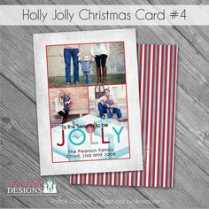 Hey, I found this really awesome Etsy listing at https://www.etsy.com/listing/61362977/holly-jolly-christmas-card-no-4-5x7