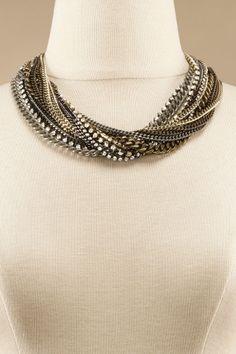 Twilight Necklace - Modern Necklace, Designer Necklace, Sparkling Crystal Necklace   Soft Surroundings