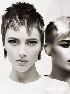 Short Hair Cuts, Short Hair Styles, Edgy Short Hair, Very Short Haircuts, London Makeup, Gamine Style, Pixie Haircut, Makeup Inspo, Cute Hairstyles