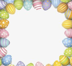 gorgeous easter border pattern, Style Galant, Easter, Frame PNG Image and Clipart