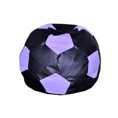 Bean Football  XXXL Size Black + Purple