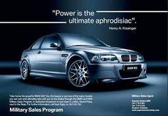 BMW M3 ad on Behance