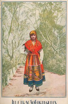 1922 - Ilustração Portuguesa  Minho Costume, Portugal