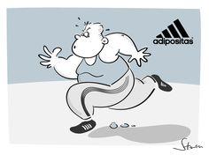 Bildergebnis für Cartoon Adipositas