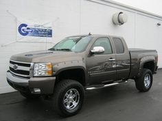 2007 Chevy Silverado with a lift kit. I would like a crew cab version of this please?