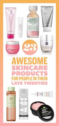 23 Products Everyone In Their Late Twenties Should Try On Their Skin.... *** Discover even more at the picture link