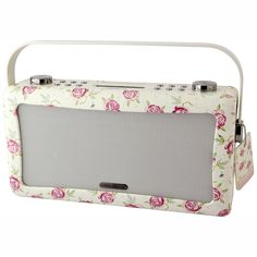 Emma Bridgewater Pottery - Rose & Bee Large Bluetooth Retro Radio