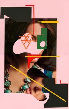 Gordon Magnin | Untitled | 2012 | Hand-cut collage on paper
