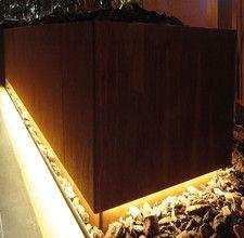 Die 12 Besten Bilder Von Holzlager Corten Steel Garden Gates Und