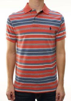 Polo Ralph Lauren Men's Custom Fit Striped Polo « Clothing Impulse