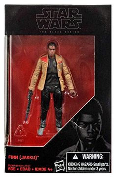 Star Wars, 2015 The Black Series Finn [Jakku] Exclusive Action Figure, 3.75 Inches Hasbro