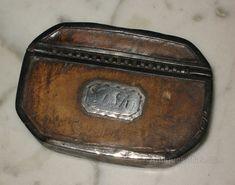 Antiques Atlas - Georgian Leather Snuff Box