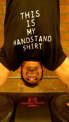 Handstand shirt #crossfit