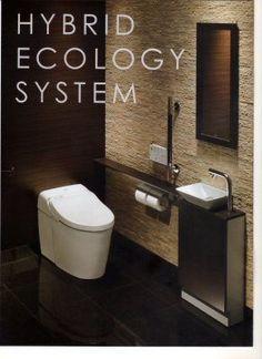 壁掛けテレビ の画像|ヘーベリアンな毎日 Bathroom Toilets, Washroom, Small Toilet Room, Japanese Bath, My House Plans, Modern Toilet, Ideal Bathrooms, Toilet Design, Bathroom Design Small