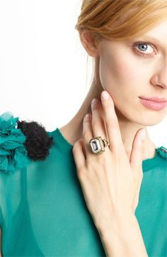 Yes, please: Lanvin Crystal Cocktail Ring