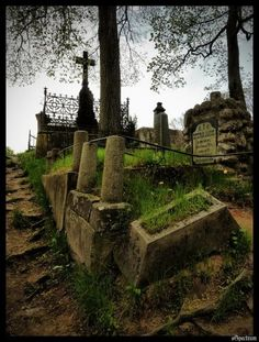 Halloween cemetery, great inspiration