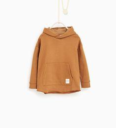 Afbeelding 2 van Sweatshirt met capuchon van Zara