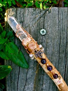 SALE Forest Goddess Wand by EireCrescent on Etsy