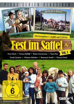 Fest im Sattel: Hans Putz, Tamara Rohloff, Hans Clarin, Dietmar Schönherr, Claudia Rieschel, Thomas Fritsch