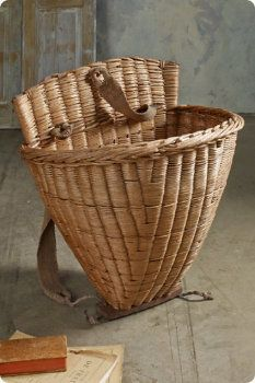 Burgundy Grape Basket