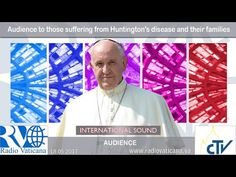 LIVE: Pope Francis receives patients of Huntington disease in Paul VI Audience Hall - ROME REPORTS