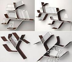 shaped bookshelves - Google Search