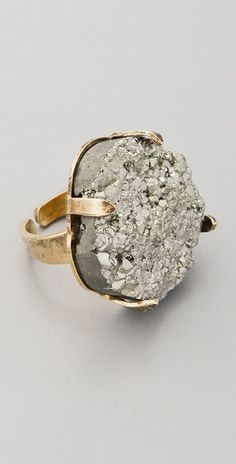 Pyrite Ring  Love it
