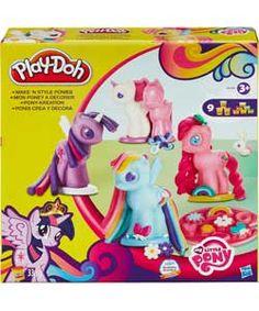 Play-Doh Make 'n' Style Ponies.