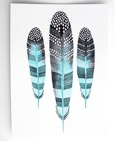 Feather Art Painting