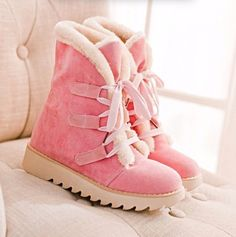 http://www.gotclicks1.com/CfbNnC3eXyTM ... ... New Arrival Winter Fur Warm Ankle boots Sweet Fashion Shoes ... ...